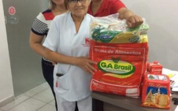Pronto Socorro Infantil de Goiânia entrega 101 cestas básicas aos seus colaboradores